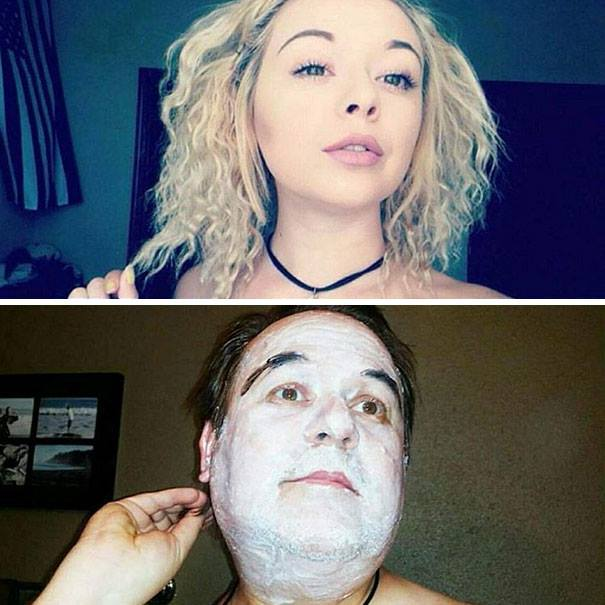 This Dad Who's Been Trolling Daughter By Recreating Her Racy Selfies