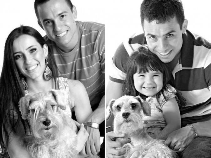 3 years after losing his wife, this dad and daughter recreate some photos in homage to her