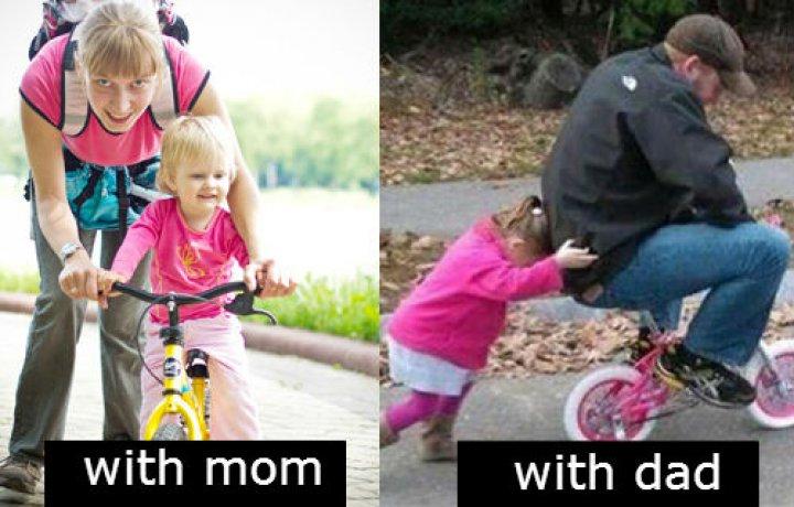 Mama VS Papa (15+ Pics)