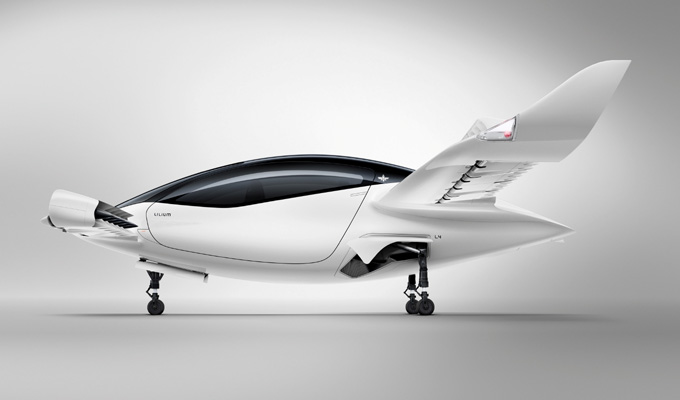 World's First All-Electric Air Taxi - The Lilium Jet