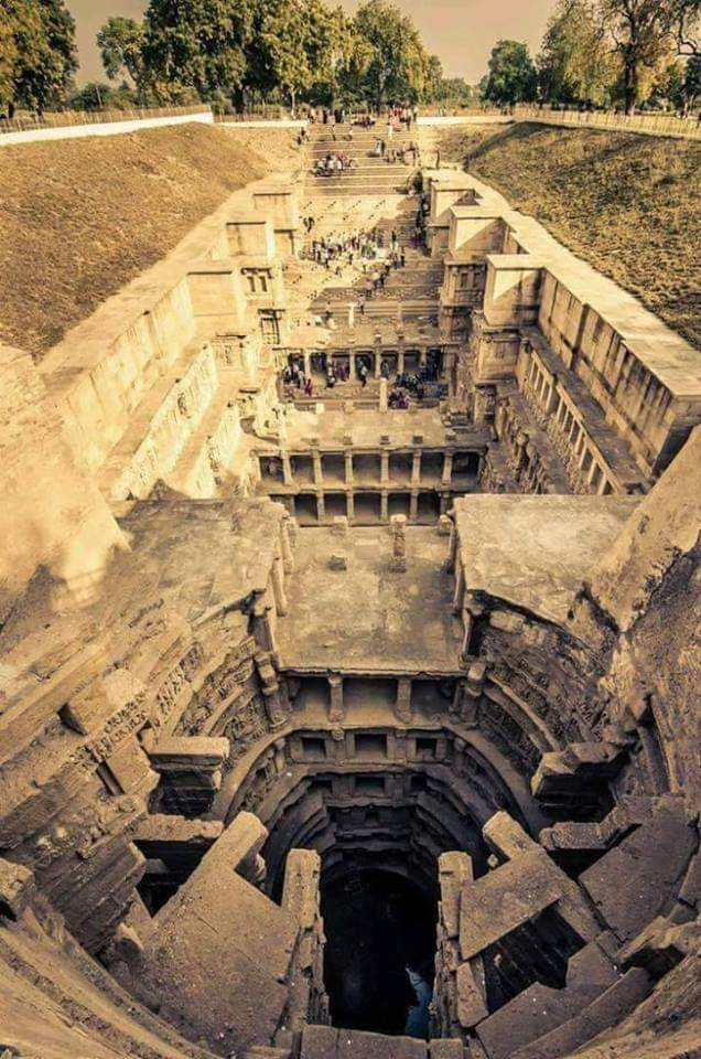 Rani Ki Vav (Queen's stepwell) at Patan, In Gujarat, India