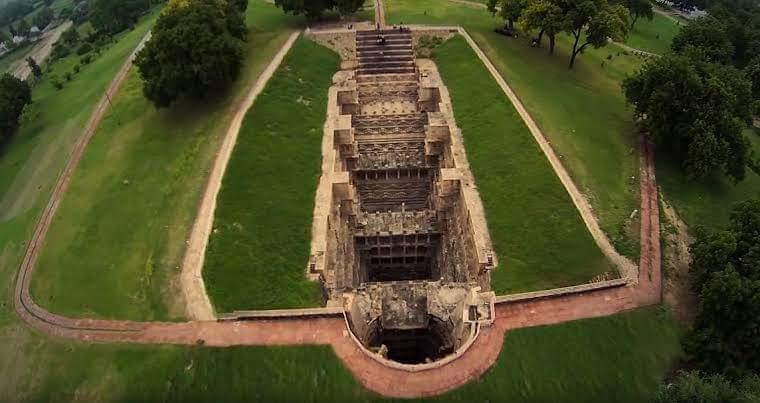 Rani Ki Vav (Queen's stepwell) at Patan, In Gujarat, India