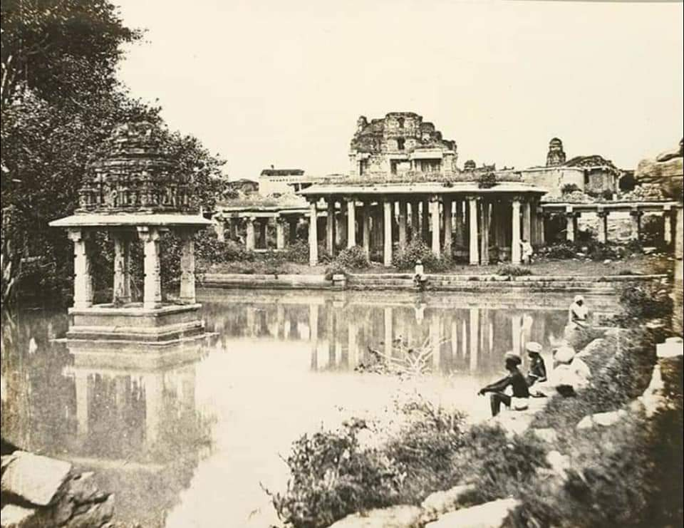 170 year old rare photographs of historical Hampi by Alxender Greenlaw