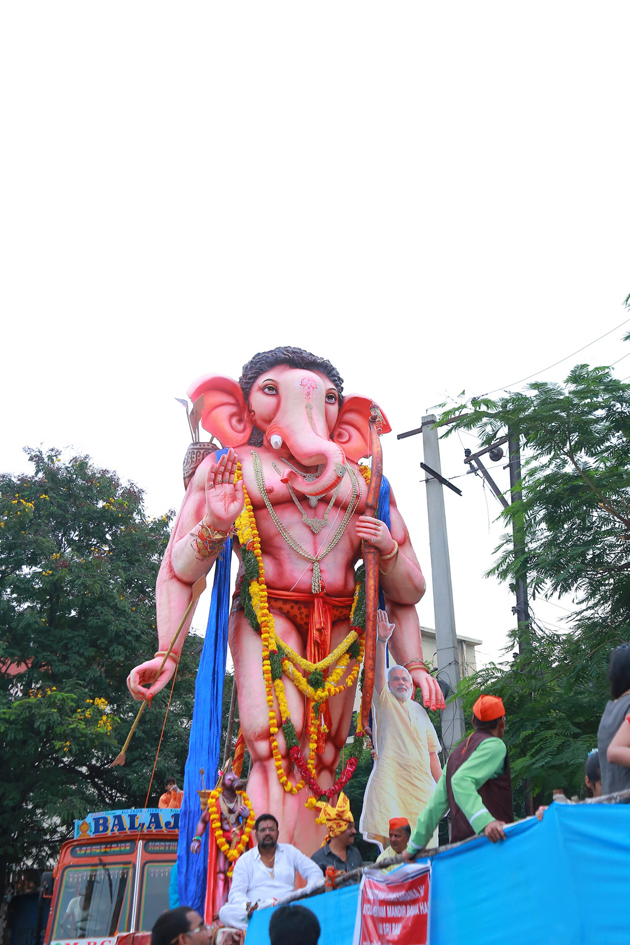 Ganesh Immersion (100+ Photos)