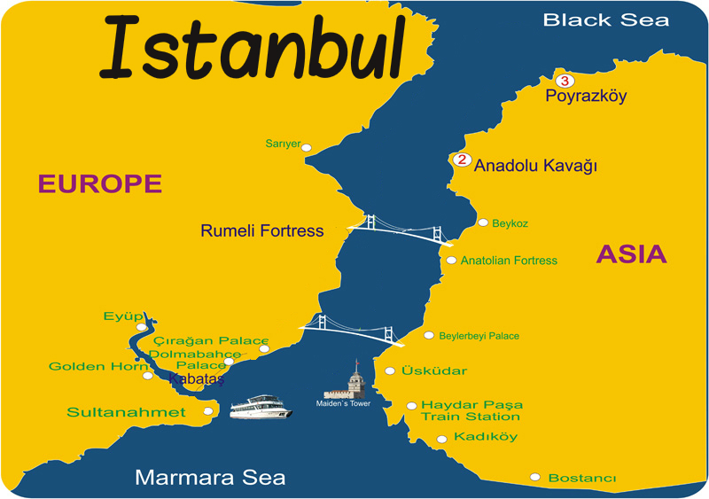 Istanbul The City That Lies On Two Continents