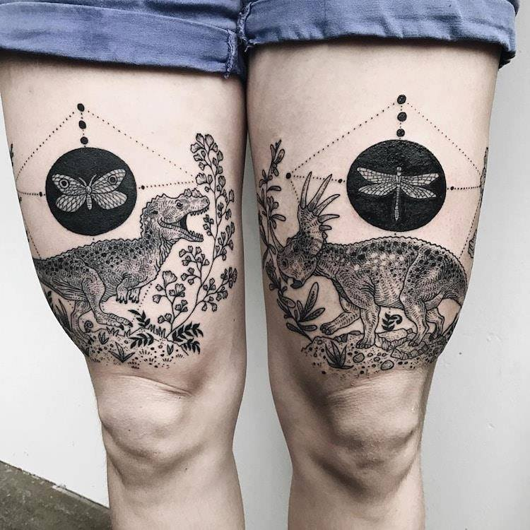 Stunning Cross-Body Tattoos By Pony Reinhardt (16 Pics)