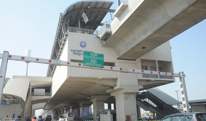 PM Modi Launches Hyderabad Metro