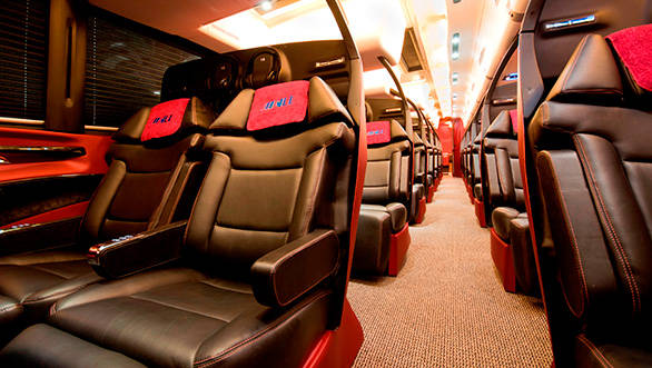 7-Star Luxury Bus Service in India