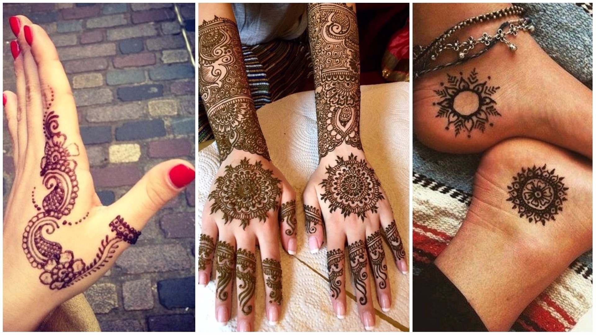 35 Beautiful Mehndi Designs Henna Hand Art