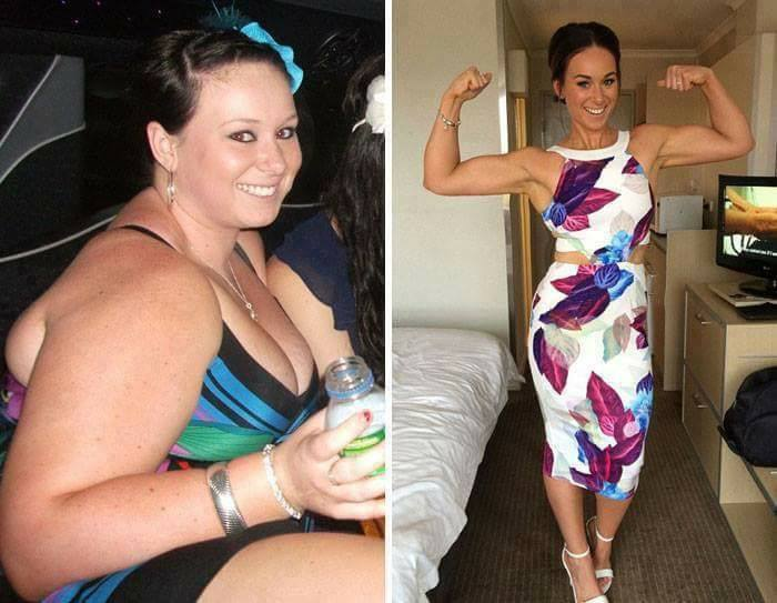 Epic Transformation - 16 Incredible Before And After Weight Loss Pics