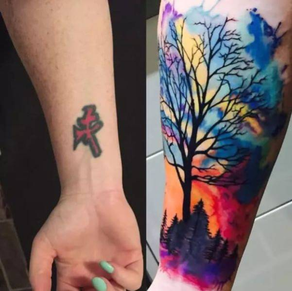 15+ Most Amazing Tattoos cover ups