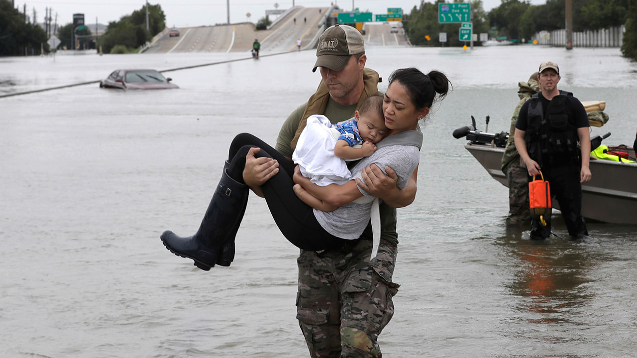 Devastating Photos From Hurricane Harvey That Reveal Who Got Hit The Worst