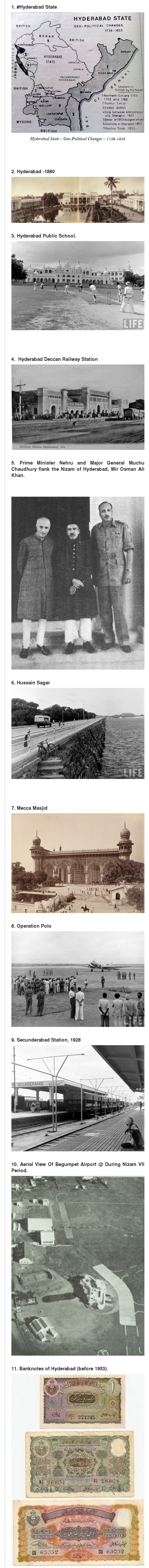 Hyderabad Before Independence Rare Videos and Photos