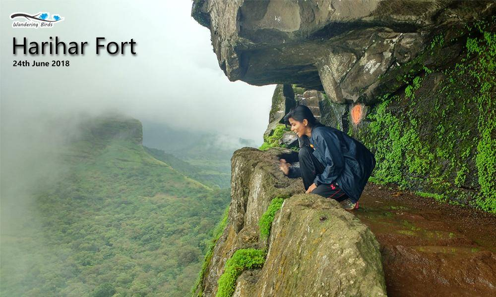 Breathtaking Harihar Fort Trek, Nashik, Maharashtra, India