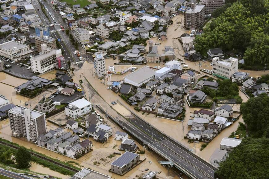 Japan Floods: Worst Rain Disaster in Decades (35 Pics)