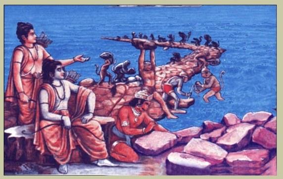 Rama's Bridge - The 1,750,000 Year Old Man Made Bridge