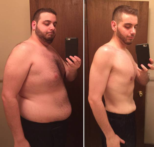 Epic Transformation: 23 Men Who Challenged Fat And Won