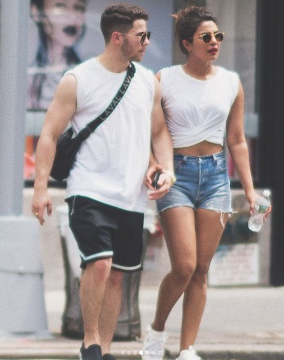 Priyanka Chopra and Nick Jonas Latest Pics (10 Pics)