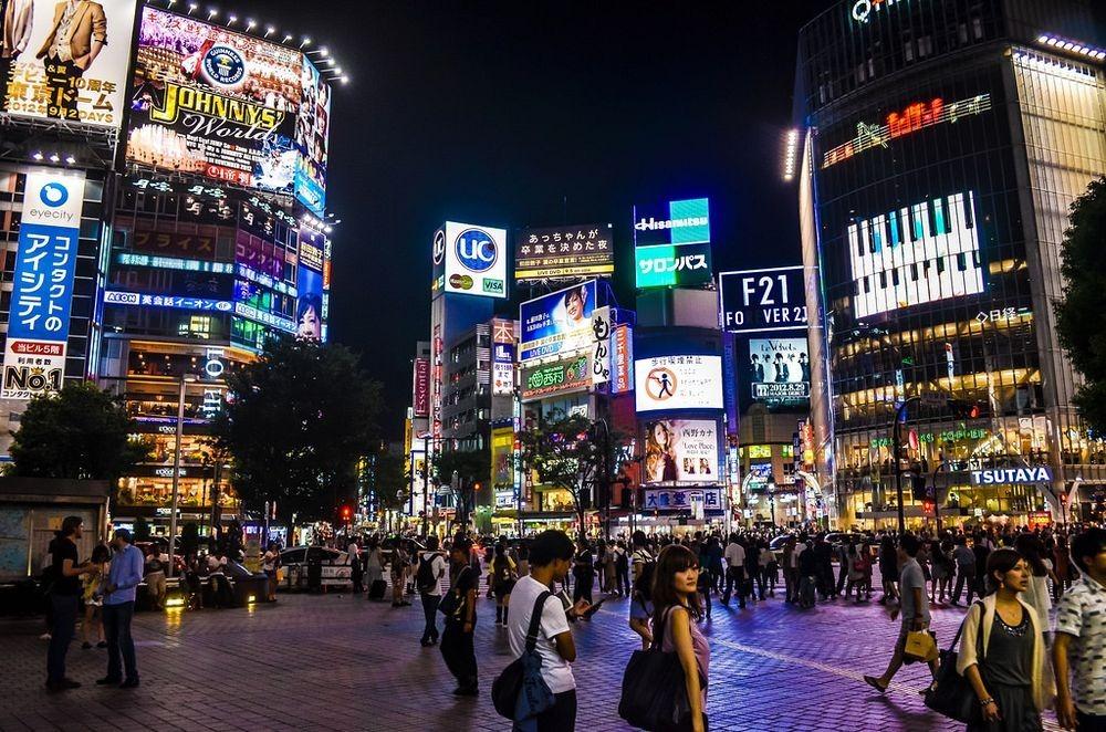 Tokyo's Iconic Shibuya Crossing