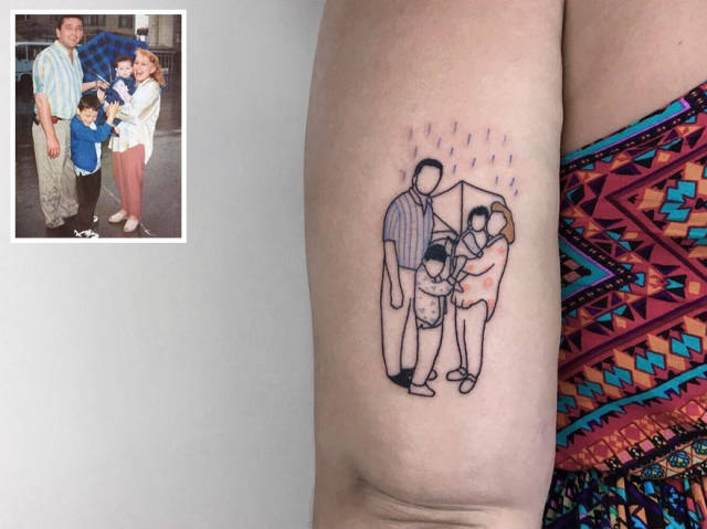 This Tattoo Artist Allows People To Keep Their Memories Forever (10 pics)